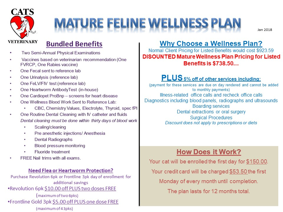 wellness plan A wellness plan offers a way to prepay for pet health care services different than insurance, a wellness plan often requires a pet owner to sign a contract for a.